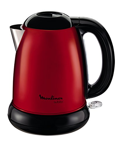 Moulinex Subito BY540510 Red Kettle/Edelstahl