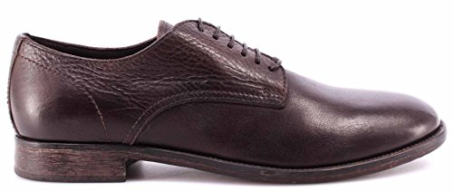 Moma Chaussure Homme 51603-Y2 Business Derby Leather Yak Ebony Vintage Italy New