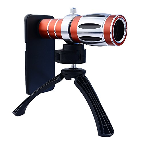 APEXEL 2015 ULTRA BEAST MAGNIFIER ZOOM MANUAL FOCUS TELEPHOTO TELESCOPE LENS KIT WITH HIGH-END TRIPOD FOR SAMSUNG GALAXY S6 EDGE
