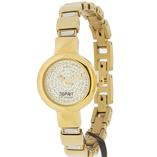 Esprit Damen-Armbanduhr Analog Quarz Edelstahl EL900392001