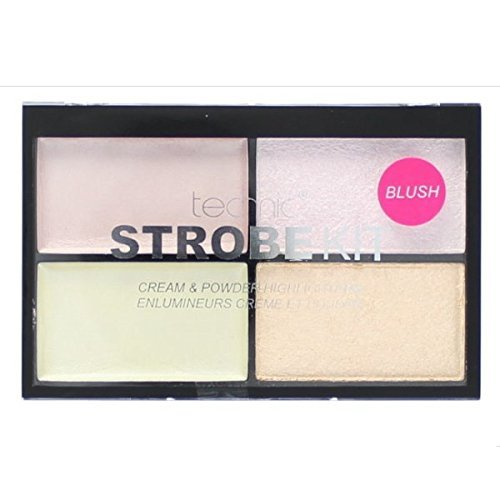 Technic Strobe Kit 2 Cream & 2 Powder Highlighter Palette - Blush Strobe-kits