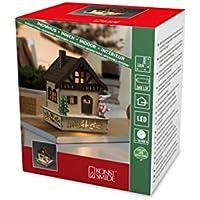 Konstsmide 3231-100 - Caseta de Madera LED con Techo, para Uso en Interiores