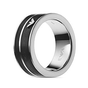EMPORIO ARMANI Ring aus Edelstahl