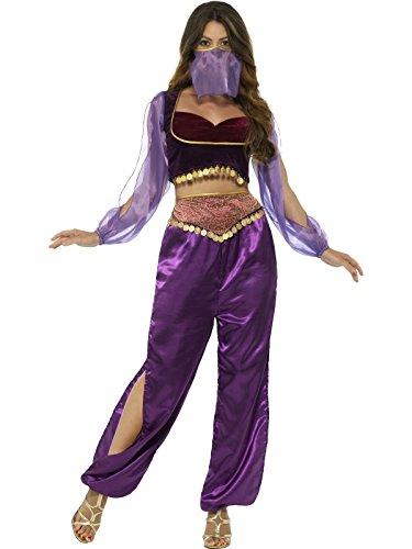 rin Prinzessin Kostüm, Hose, Oberteil und Gesichtsschleier, Größe: 36-38 (Engel Prinzessin Kostüm)