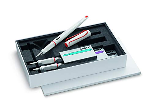 LAMY 015 joy Set white+red
