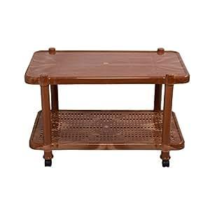 Cello Oscar Center Table (Sandalwood Brown)