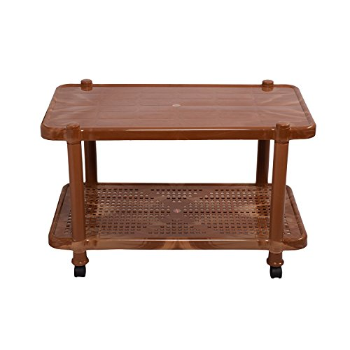 Cello Oscar Center Table (Sandalwood Brown)