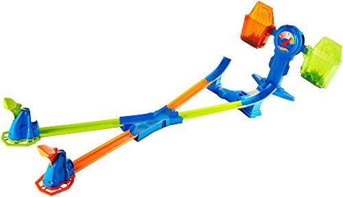 Hot Wheels Báscula superacrobática, Accesorios para Pistas de Coches, (Mattel FRH34)