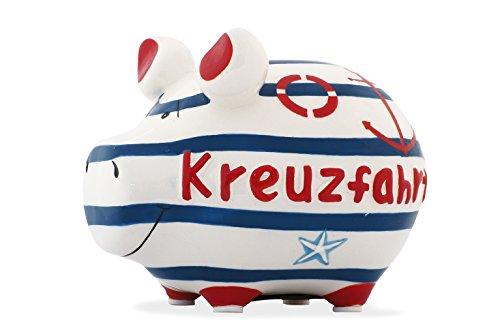 Preisvergleich Produktbild KCG Spardose Schwein Kreuzfahrt klein