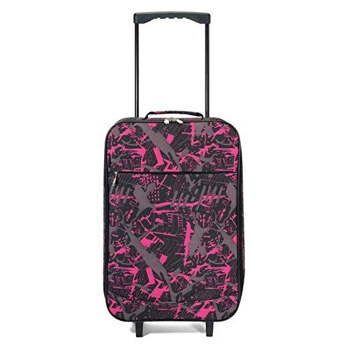 Benzi Maleta, Negro y rosa (Varios colores) - BZ4627