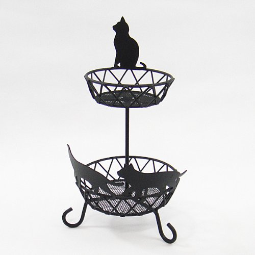 gourmet-two-tier-black-cat-basket-stainless-w-matte-coating