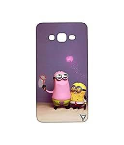 Vogueshell Minion SpongeBob Printed Symmetry PRO Series Hard Back Case for Samsung Galaxy Grand Prime