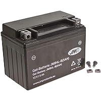 YT4L-B f/ür Aprilia SX 50 SM 2006 YTX4L-BS Batterie wartungsfrei 12V 5AH YB4L-B