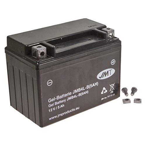 YB4L-B 5A JMT Gel Batterie für NRG 50 LC DD mc2 Baujahr 1998-1999