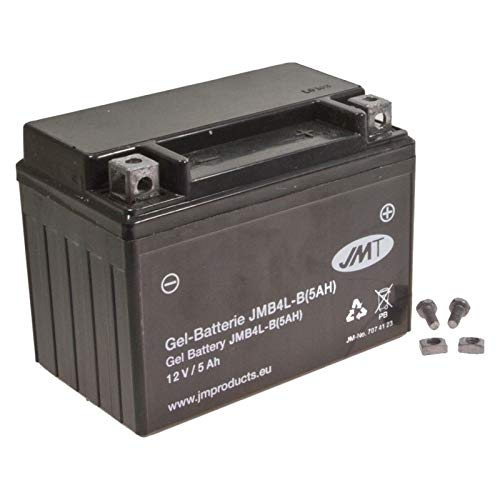 Preisvergleich Produktbild JMT YB4L-B 5A Gel Batterie DR 125 S 1982-1994