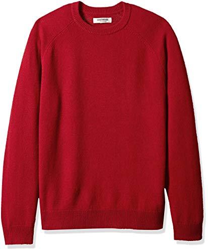 Marchio Amazon - Goodthreads, maglione a girocollo, da uomo, in lana d'agnello, Sandali...