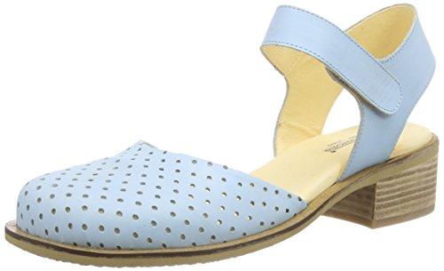 John W. Shoes Imala, Baskets Basses femme Bleu - Blau (ciel)
