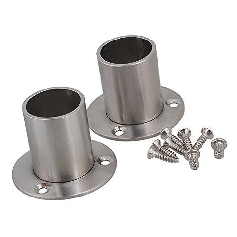 BQLZR tuyau en acier inoxydable Prise Porte-bride de support de