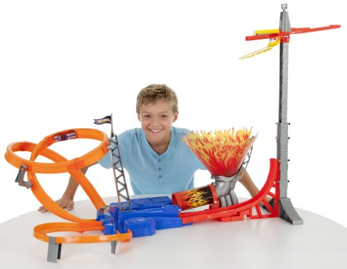 Imagen principal de Hot Wheels - Pista Salto Infernal (Mattel)