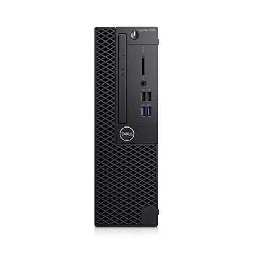 Dell Optiplex 3060 SFF Tower, Intel Core i5-8500, UHD Graphics 630, schwarz