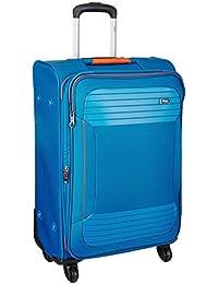 VIP Zane Polyester 56 cms Marine Blue Softsided Cabin Luggage (STZANW59MBL)