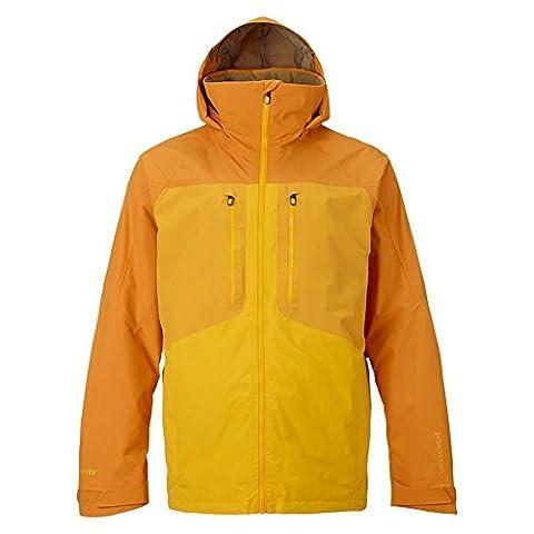 Burton Men's AK 2L Swash Jacket, Flashback/Burnout/Trooper, Small