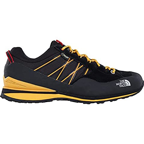 The North Face M Verto Plasma II Gtx, Chaussures de Randonnée Homme, Noir-Negro (Tnf Black / Tnf Yellow), 48 EU