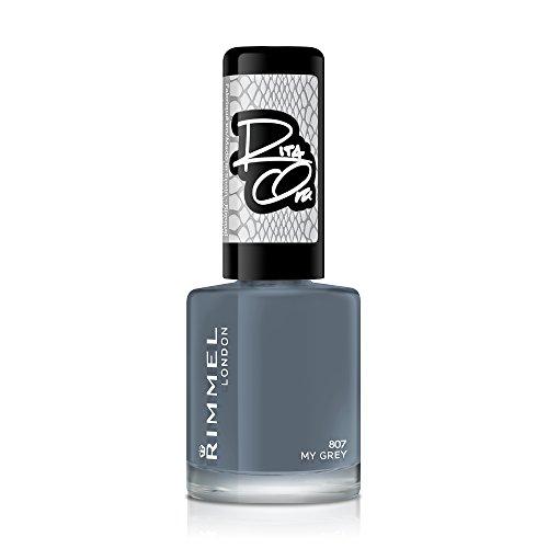 Rimmel - 60 Seconds Super Shine Rita Ora - Vernis à ongles My Grey - 8 ml