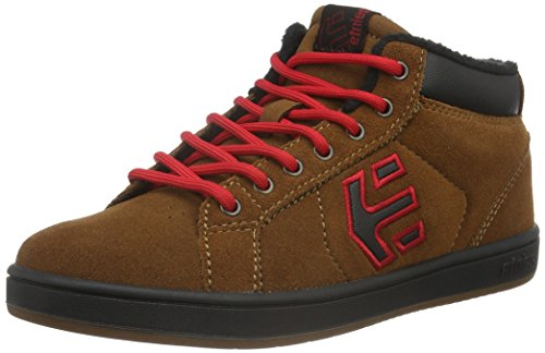 Etnies Kids Fader Mt, Scarpe da Skateboard Unisex – Bambini Marrone (Braun (BROWN/BLACK / 201))