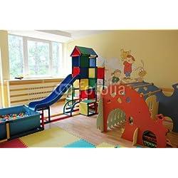 "Alu-Dibond-Bild 140 x 90 cm: ""Spielzimmer"", Bild auf Alu-Dibond"
