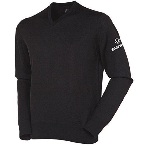 sunice-2016-mens-metter-v-neck-water-repellent-golf-sweater-black-m