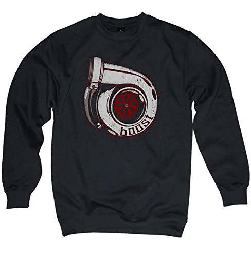 NG articlezz Pullover Turbolader - Boost im Oldschool Look Gr.S-3XL