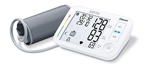 Sanitas 65824 Misuratore di Pressione da Braccio con Tecnologia Bluetooth
