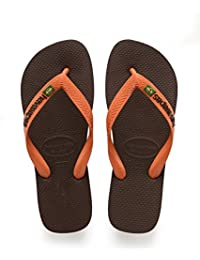 Havaianas Brasil Logo, Tongs Mixte Adulte