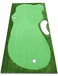 TT Manta de práctica de golf para interiores y exteriores Putt Práctica de práctica Práctica de práctica para golf profesional Match Grass 150 * 300cm