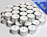 Hillfield 350 Gastro - Teelichter, 8 Stunden Brenndauer , Weiß, Teelichter in Premium - Qualität, auch für die anspruchsvolle Gastronomie, Großpackung