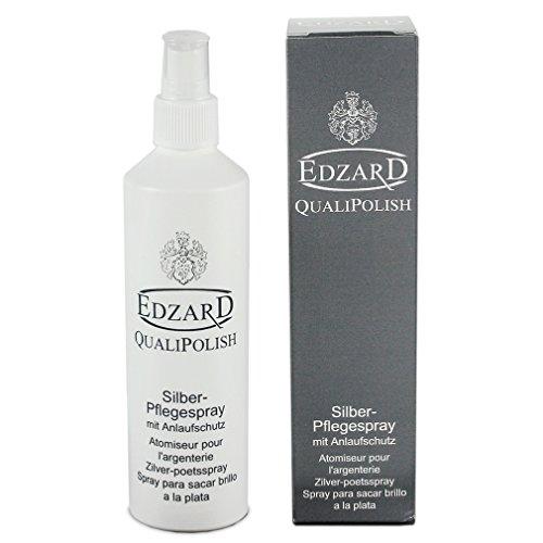 EDZARD QualiPolish® Silber-Pflegespray mit Anlaufschutz, Inhalt 250 ml