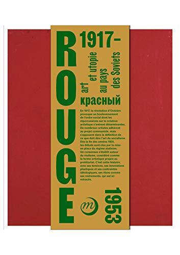 Rouge : Art et utopies au pays des Soviets par  Collectif
