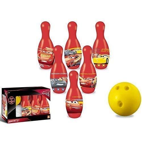 Lively Moments Bowling - Set / Kegelset / Bowlingpins / Spielzeug von Disney Pixar - Cars3 für Kinder