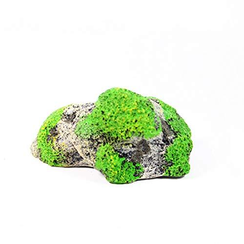MINGFENG Aquarium-Dekoration Bimsstein, hängend, künstliche Aquarien, Acuarios, Moos, Fliegender Fels, Wasserdekoration, kleine Größe: 6,0 x 9,2 cm
