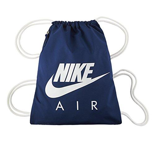 Nike Nk Heritage Gmsk 1 - Gfx Bolsa de Cuerdas, Hombre, Azul (Coastal Blue / White / White), Talla Única