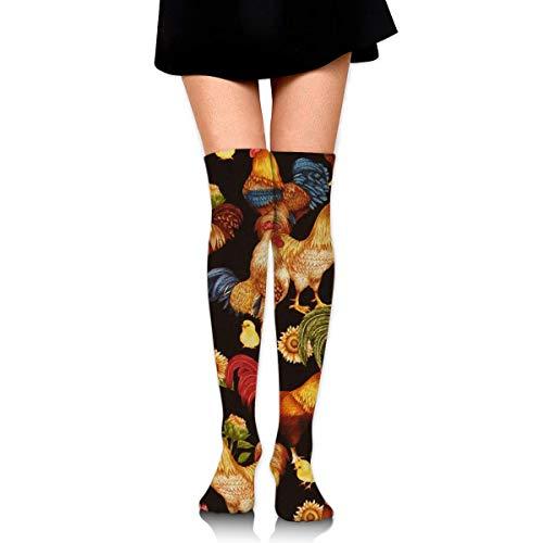 CVDGSAD Knee High Socks Cock Long Socks Boot Stocking Compression Socks for Women