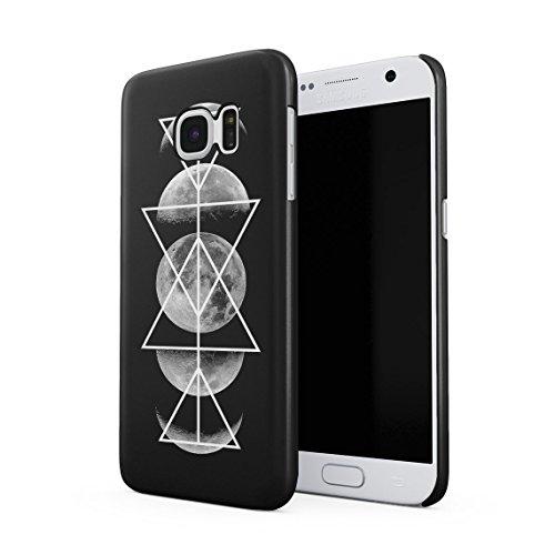 Constellation Sternenlicht Galaxy Geometric Mond Phases Tumblr Dünne Rückschale aus Hartplastik für Samsung Galaxy S6 Handy Hülle Schutzhülle Slim Fit Case Cover