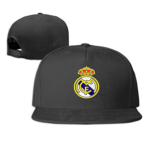Hittings Los Vikingos Real Madrid C.F. Football Club Snapback Hat Black -