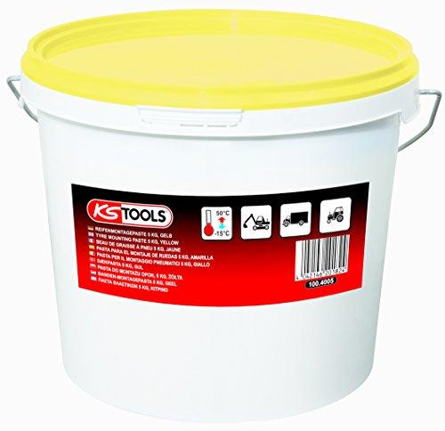 KS Tools 100.4005 Reifenmontagepaste 5 kg, gelb
