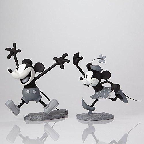 walt-disney-mickey-minnie-archive-4051312-figura-modelo-negro-blanco-18-cm