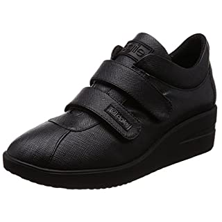Agile By Rucoline Fashion-Sneakers Womens Black 6.5 UK