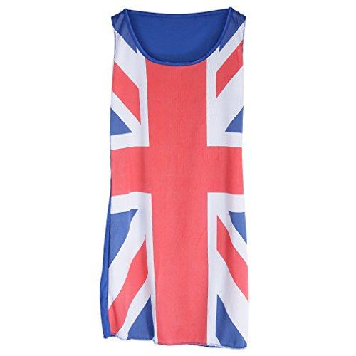 Gewerkschafts Jack England Flagge Kleid Kostüm Kostümparty Für Frauen Damen