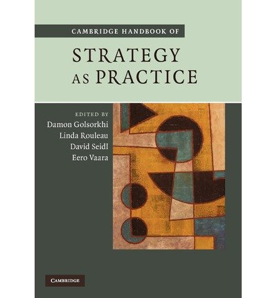 Cambridge Handbook of Strategy as Practice (Paperback) - Common