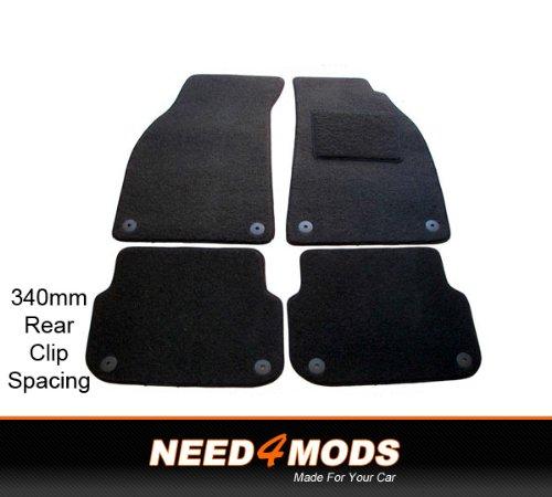 audi-a6-saloon-2005-tailored-car-floor-mats-340mm-rear-clip-spacing